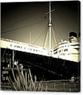 A Large Old Ship Canvas Print