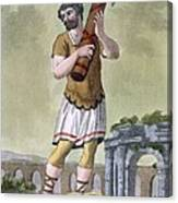 A Lictor, Bearer Of The Fasces Canvas Print
