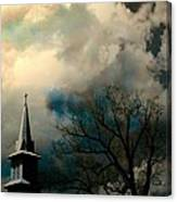 A Light Breaks Through Canvas Print