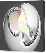 A Light Egg Canvas Print