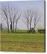 A Little Farming Canvas Print