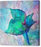 A Little Flower Canvas Print