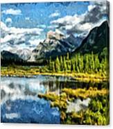 A Little Of Something Just Right Canvas Print
