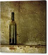 A Lonely Bottle Canvas Print