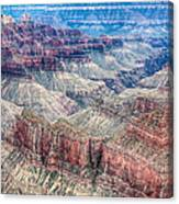 A Look Into The Grand Canyon  Canvas Print