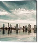 a look to New Jersey  Canvas Print