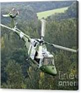 A Lynx Mk 7 Helicopter Canvas Print
