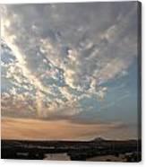 A M Clouds Lake California Canvas Print