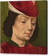 A Male Figure Perhaps Saint Sebastian A Canvas Print