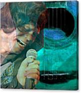 A Man And His Music - James Brown Featured In 'abc Group' And Comfortable Art Group Canvas Print