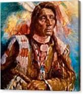 A Man Of Peace Canvas Print