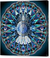 A Mandala Abstract Canvas Print