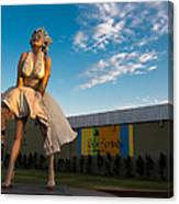 A Marilyn Morning Canvas Print