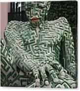 A Maze Ing Man 1 Canvas Print