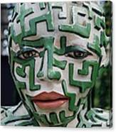 A Maze Ing Man 3 Canvas Print