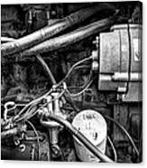 A Mechanic's View Canvas Print