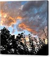 A Memorable Sky Canvas Print