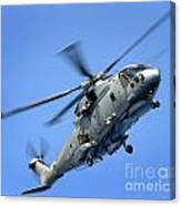 A Merlin Helicopter Canvas Print