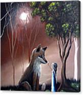 A Midnight Moment By Shawna Erback Canvas Print