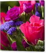 A Mixed Bouquet Canvas Print