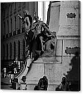 A Monument In Rio Canvas Print