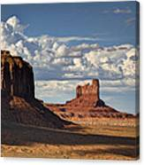 A Monumental Morning  Canvas Print