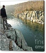 A Morning At Mathers Gorge Canvas Print