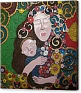 A Mother's Lullaby Canvas Print