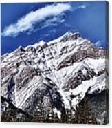 A Mountain View Canvas Print
