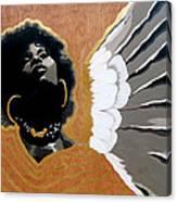 A Natural Angel Canvas Print