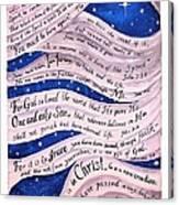 A New Creation Canvas Print