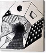 A New Dimension Canvas Print