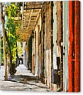 A New Orleans Alley Canvas Print