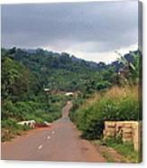 A Nice Nigerian Road Canvas Print