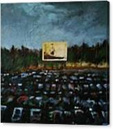 A Night At The Drive In Canvas Print
