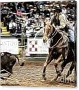 A Night At The Rodeo V12 Canvas Print