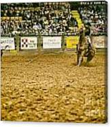 A Night At The Rodeo V16 Canvas Print