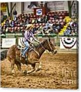 A Night At The Rodeo V31 Canvas Print