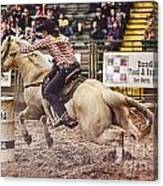 A Night At The Rodeo V34 Canvas Print