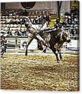 A Night At The Rodeo V36 Canvas Print