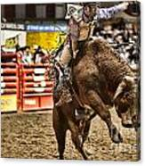 A Night At The Rodeo V6 Canvas Print