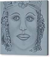 A Nubian Princess Canvas Print
