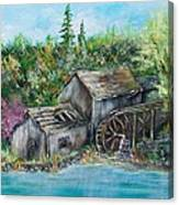 A Old Mill Canvas Print