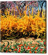A Painting Springtime 2 Dali-style Canvas Print
