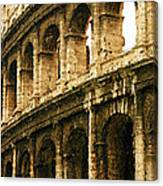 A Painting The Colosseum Canvas Print