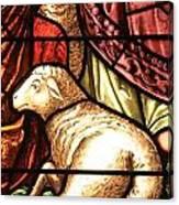 A Pair Of Lambs Canvas Print