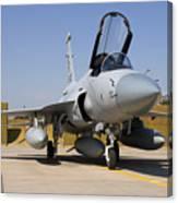A Pakistan Air Force Jf-17 Thunder Canvas Print