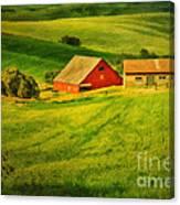 A Palouse Farm Canvas Print
