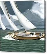 A Passing Squall Canvas Print
