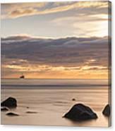 A Peaceful Sunrise Canvas Print